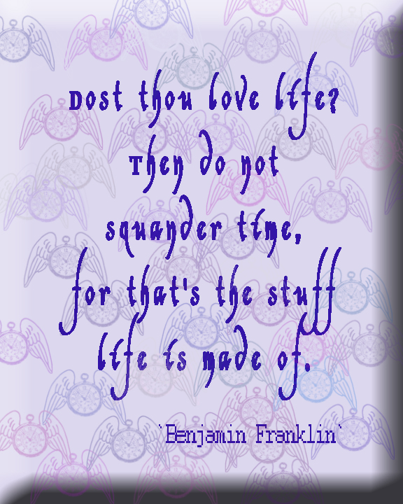 Wisdom of Ben Franklin